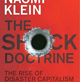 What is Disaster Capitalism? Looking Towards Naomi Klein.