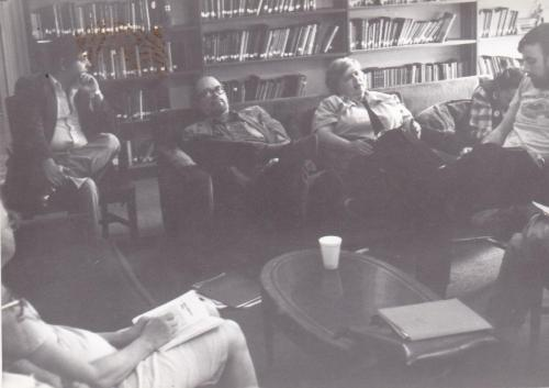 Maggie 1985 Conv NC Meet with McR and Bill Shakalis