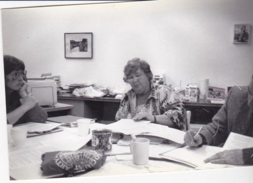 Maggie With Linda Randolph 12-1986