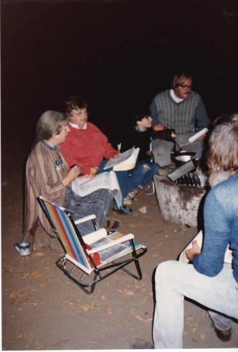Maggie at CA Encampment