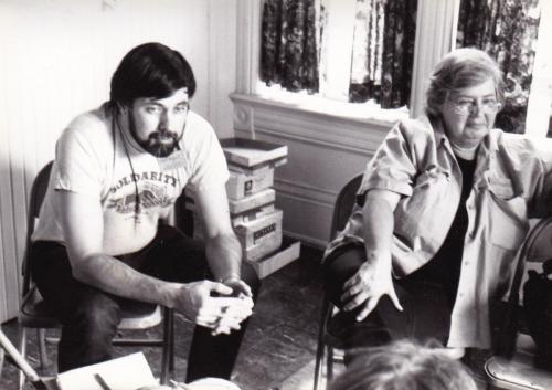 Maggie w Bill Shakalis 1985 Conv