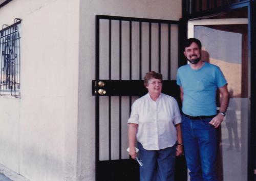 Maggie w Bill Shakalis Oct 1986