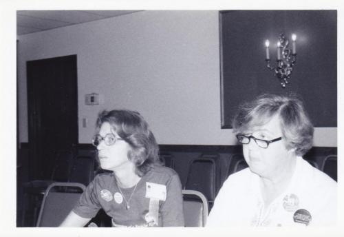 Maggie w June Gilhart 1978 Conv Iowa City