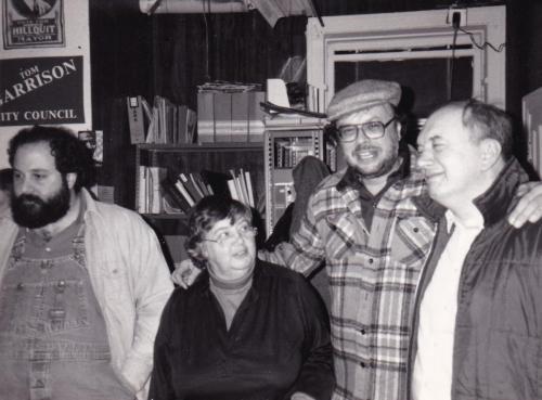 Maggie w Ron Ehrenreich, John Acher, Brahm Bassford